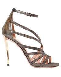 Les Tropeziennes - 110mm Printed Calf Sandals - Lyst
