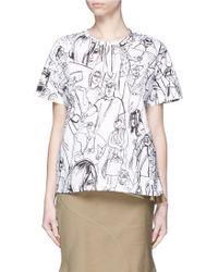 Emilio Pucci | Tourist Print T-shirt | Lyst