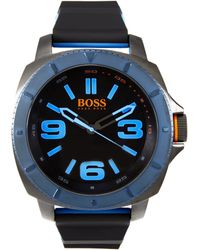 BOSS Orange - 1513108 Sao Paulo Silicone Strap Watch - Lyst