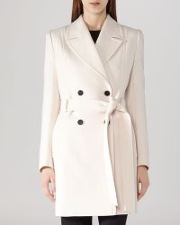 Reiss Coat - Kennedy Double Breasted - Lyst