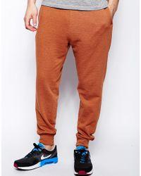 Asos Red Regular Sweatpants - Lyst