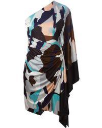 MSGM Asymmetric Dress - Lyst