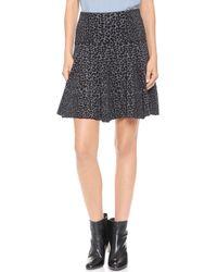 Joie Wemberley Skirt  Leopard - Lyst