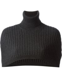 Dolce & Gabbana Ribbed Crop Top - Lyst