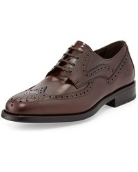 Ferragamo Ponce Wing-tip Lace-up - Lyst