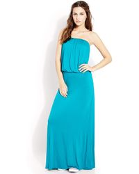 Forever 21 Flounced Maxi Dress - Lyst