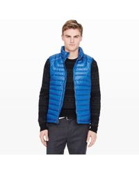 Club Monaco Packable Down Vest - Lyst
