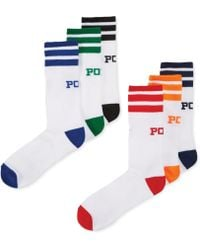Ralph Lauren Polo Mens Polo Athletic Crew Socks 6pack - Lyst
