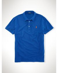 Polo Ralph Lauren Featherweight Mesh Polo Shirt - Lyst