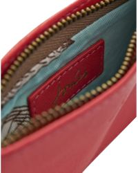 Joules - Chancery Leather Coin Purse - Lyst