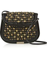 Tamara Mellon - Treasure Studded Leather Shoulder Bag - Lyst