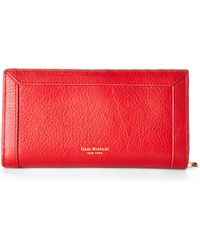 Isaac Mizrahi New York - Red Florence Clutch - Lyst
