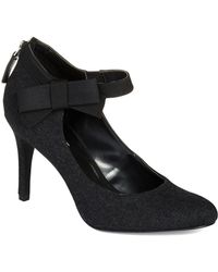 Nine West Black Gushing Pumps - Lyst