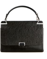 Cartier Black Leather and Calf Hair Jeanne Toussaint Handbag - Lyst