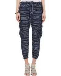 Ulla Johnson Drop-Rise Cargo Pants - Lyst
