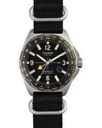 Filson | The Journeyman Nylon Strap Watch, 43mm | Lyst