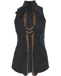 L'Wren Scott Embellished Sleeveless Top - Lyst