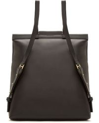 Building Block - Black Leather Rucksac - Lyst