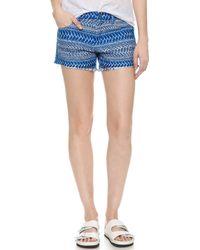 IRO Hamel Shorts - Blue - Lyst