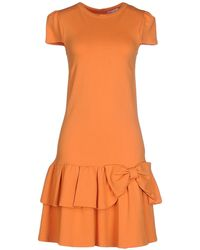 Red Valentino | Short Dress | Lyst
