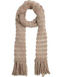 Anna Kula Stripe Chunky-knit Scarf - Lyst
