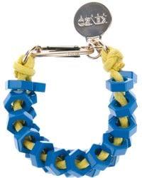 KENZO - Metal Bolt Bracelet - Lyst