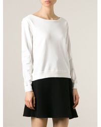 Ralph Lauren Black Label - 'catrin' Sweatshirt - Lyst