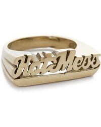 Snash Jewelry - Hot Mess Ring - Gold - Lyst