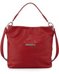 Longchamp Le Foulonne Leather Hobo Bag - Lyst