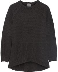 Lot78 Oversized Ribbed-knit Sweater - Lyst