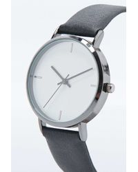 Urban Outfitters - Classic 4-baton Face Watch In Black - Lyst