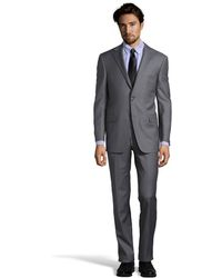 Hickey Freeman Pinstripe Super 150s Wool with Flat Front Pants - Lyst