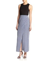 Twelfth Street Cynthia Vincent Printed Maxi Dress - Lyst