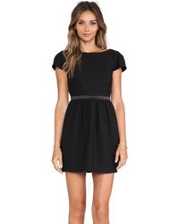 Elizabeth And James Waldorf Dress - Lyst