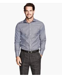 H&M Shirt in Premium Cotton - Lyst