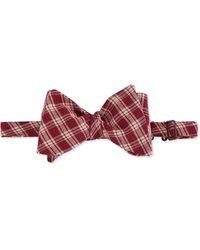 Mo's Bows - Sullivan Plaid Bow Tie - Lyst