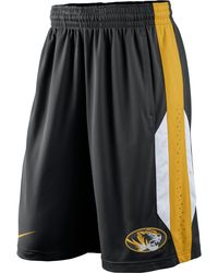 Nike Mens Missouri Tigers Drifit Performance Shorts - Lyst