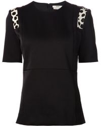 Edun Shoulder Detail T-Shirt - Lyst