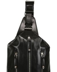 The Bridge Hand-painted Leather Mono-strap Backpack - Lyst