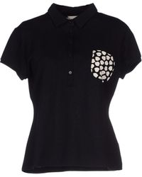 Moncler Polo Shirt - Lyst