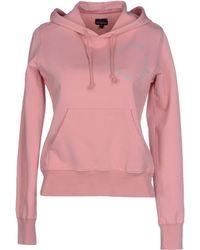 Calvin Klein Jeans Sweatshirt pink - Lyst