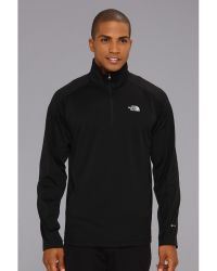 The North Face 14 Zip Paramount Grid - Lyst