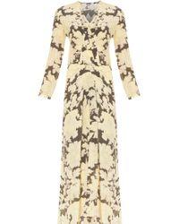 Paul & Joe Printed Silk Gown - Lyst