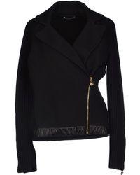 Versace Black Jacket - Lyst