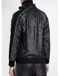 Filles A Papa - Sequined Tracksuit Jacket - Lyst