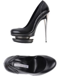 Gianmarco Lorenzi Black Pump - Lyst
