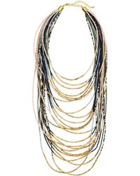 H&M Multistrand Necklace - Lyst
