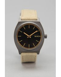 Nixon Time Teller Canvas Watch - Lyst