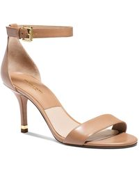 Michael Kors Open Toe Ankle Strap Sandals - Suri - Lyst