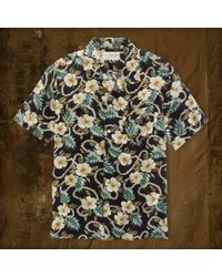 Denim & Supply Floralprint Beach Shirt - Lyst